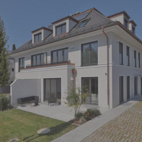 Twin house   Munich-Großhadern   2019