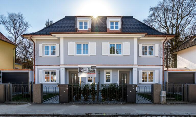 Twin house | Munich-Pasing | 2019