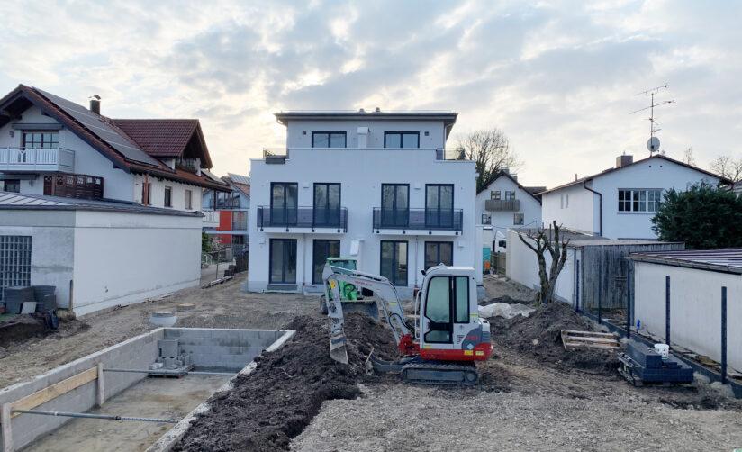 Progress of construction – Marienburgerstraße | Denning