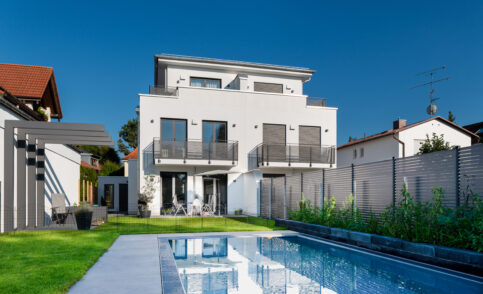 completion twin house | München-Denning